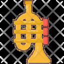 Cornet Trumpet Musical Instrument Icon