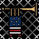 Memorial Day Celebration America Icon