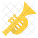Trumpet Horn Music Icon
