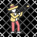 Trumpet Latin Musician Icon