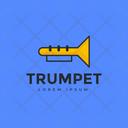 Trumpet Logo Icon