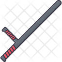 Truncheon Law Police Icon