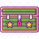 Trunk Cloth Trunk Picnic Bag Icon