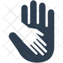 Holding Hand Care Charity Icon
