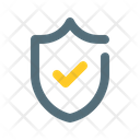 Trusted Shield Check Icon