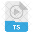 File Ts Format Icon