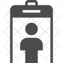 Full Body Scanner Metal Detector Security Icon