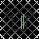 Tshirt Shirt Lines Icon