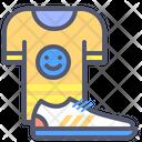 Tshirt Shoes Boots Icon