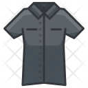 Shirt Button Up Icon