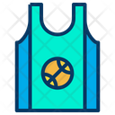 Game Wear Game Cloths Basketball Game T Shirt Icon