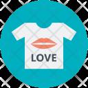 Tshirt Tee Love Icon