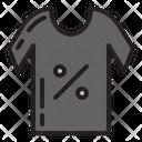 Tshirt Discount Icon