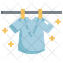 Shirt Dry Hygiene Icon