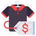Mclothes Clothes Shopping Tshirt Price Icon