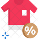 Tshirt Sale Icon
