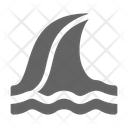 Tsunami Disaster Wave Icon