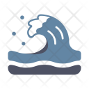 Tsunami Water Sea Icon