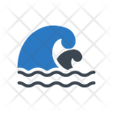Tsunami World Disaster Icon