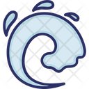 Weather Tsunami Water Icon