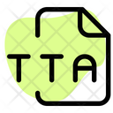 Tta File Audio File Audio Format Icon