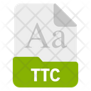 Ttc File Format Icon