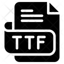 Ttf Document File Icon