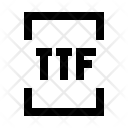 Ttf extension Icon