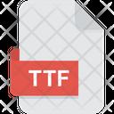 Ttf Font True Type Icon
