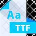 Ttf File Ttf File Format Icon