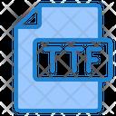 Ttf File File Ttf Icon