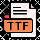 Ttf File Type File Format Icon