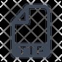 Ttf File Format Icon