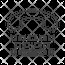 Tty Teletypewriter Teletype Icon