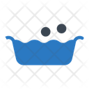 Tub Water Laundry Icon