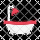 Tub Bath Shower Icon