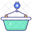 Tub Hot Bubbles Icon