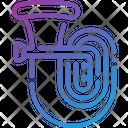 Tuba Music Musical Instrument Icon