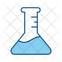 Tube Flask Chemical Icon