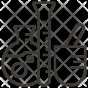 Tube Design Stationery Icon