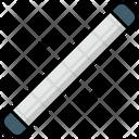 Tube Light Electric Fluorescent Icon