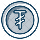 Tugrik Coins Currency Coin Icon