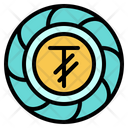 Tugrik Mongolia Coin Icon