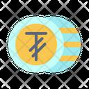 Tugrik Mongolia International Icon