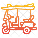 Tuk Tuk Car Transport Icon