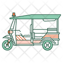 Tuk tuk car Icon