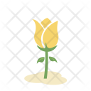 Tulips Flower Greenery Icon