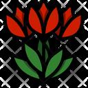 Tulip Flower Bow Icon