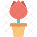 Tulip Bud Flower Icon