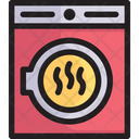 Tumble Dryer Machine Electric Icon